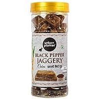 Urban Platter Black Pepper Jaggery Cubes, 500g [Pure, Kali Mirch Gud, No Preservatives Added]