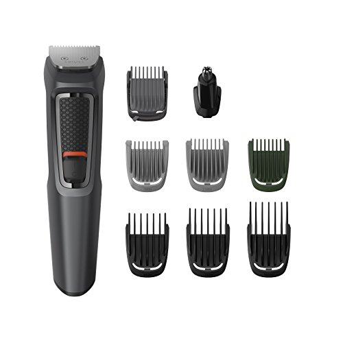Philips MULTIGROOM Series 3000 MG3747/13 tagliacapelli Nero Ricaricabile