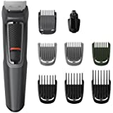 Philips Series 3000 9-in-1 Multi Grooming Kit for Beard, Hair & Body with Nose Trimmer Attachment - MG3747/13