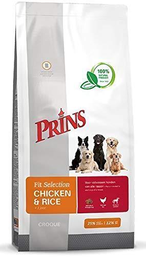 Prins 15 KG fit Selection kip/rijst hondenvoer
