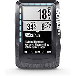 "Wahoo Fitness Elemnt GPS 2.7"" Wireless bicycle computer Negro - Ordenador para bicicletas (6,86 cm (2.7""), 16 h, 57,5 mm, 21,2 mm, 90,5 mm, 99,2 g)"