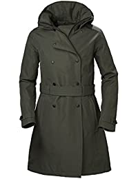 Helly Hansen W Welsey Trench Insulated, Abrigo para Mujer, (Verde 482), XX-Large (Tamaño del Fabricante:2XL)