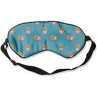 French Fries Natural Silk Sleep Mask Comfortable Smooth Blindfold for Travel, Relax preisvergleich bei billige-tabletten.eu
