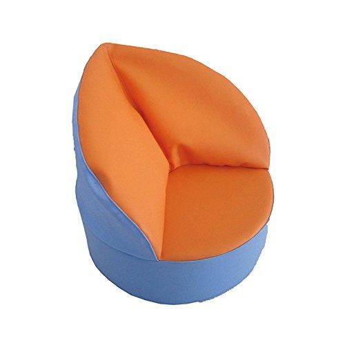 kidunivers–Sitzsack Prinzessin aus Schaumstoff für Kinder von 1bis 3Jahre bebix