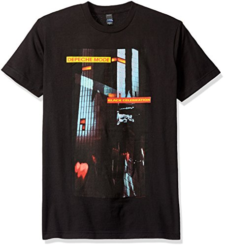 FEA Herren T-Shirt Depeche Mode Band Photo Soft - Schwarz - Mittel