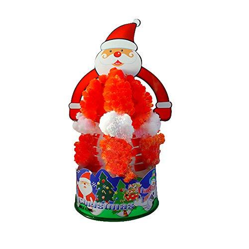 Weihnachtsbaum, aus Papier, mit Blüte, kreativ, bunter magischer Baum, Spielzeug zum Basteln (mehrfarbig)