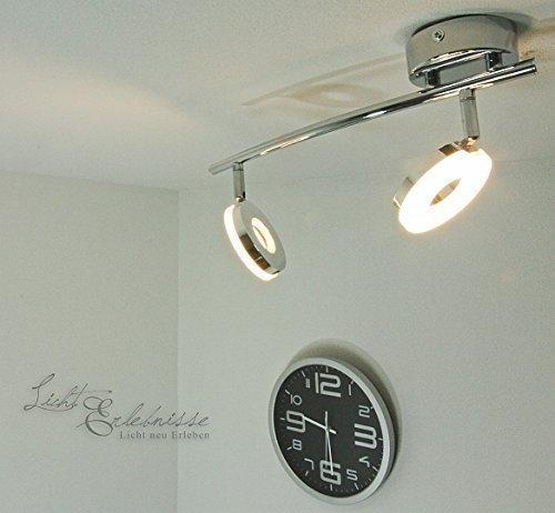 Faretto LED per montaggio a parete & soffitto cromato monderer da soffitto orientabile lampada da parete soffitto soggiorno camera da letto