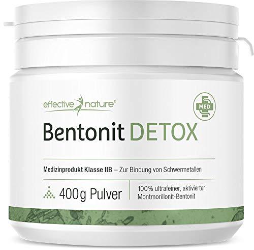 Bentonit Pulver - Ideal bei Darmreinigung und Darmkuren (Medizinprodukt IIB) - 400 g