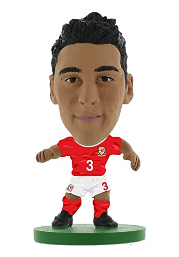 SoccerStarz SOC1044 The Officially Licensed Wales National Team Figure of Neil Taylor in Home Kit