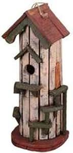Garten Dekoration ht08542C Vogelhaus, 52cm, cremefarben