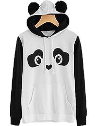 Be Bakchod Panda Hoodie for Girls and Women Cotton Hoodie Jacket Sweatshirt Printed Hoodie Women Clothings
