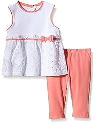 Chicco Baby-Mädchen Bekleidungsset Ensamble 2 Pcs Chemise+Leggings