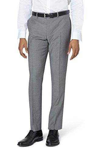 DKNY Slim Fit Hellgrau Anzug Hose UK 34S