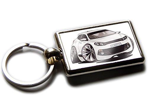 Volkswagen 000087010HYPN Porte-cl/és Scirocco avec Pendentif en m/étal Argent/é