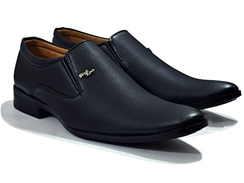 BUWCH Men's Formal Black Shoes