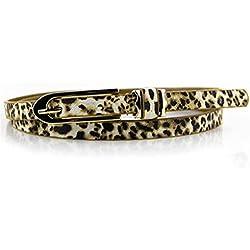 Greenlans - Cinturón - para Mujer Leopardo Talla única