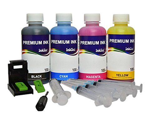KIT INKTEC DE CARGA PARA CARTUCHO ORIGINAL CANON PG-545 CL-546 NEGRO Y COLOR