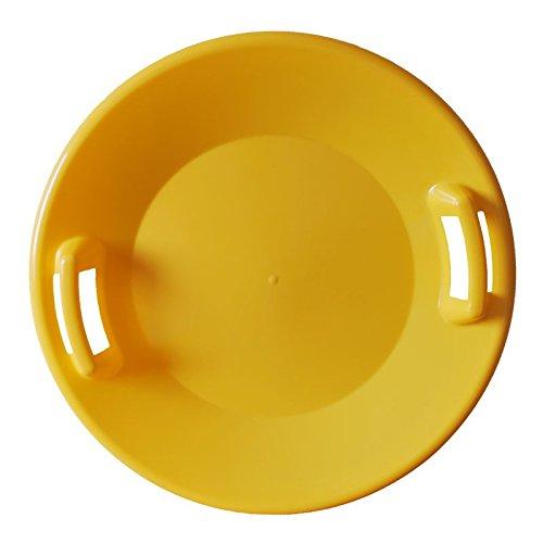 SULOV Kinder Kinderschlitten, Gelb, 61 x 61 x 7.5 cm