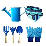 Kids Garden Tools Set,6 PCS Garden Tools Garden Tool Toys Outdoor Toys und Learning ToysCute Garden Bag