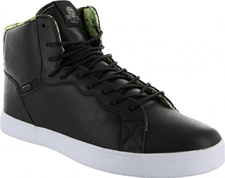 Osiris Skateboard Schuhe Grounds Black/Green/Shock  Billig und erschwinglich Im Verkauf