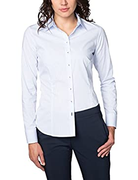 ETERNA Blouse for tall women SLIM FIT striped