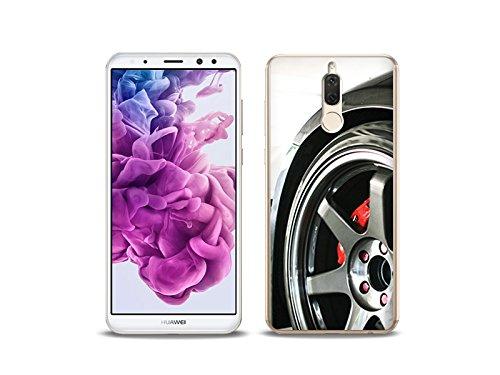 Huawei Mate 10 Lite - etuo Handyhülle Schutzhülle Etui Hülle Case Cover Tasche für Handy Foto Case - Felge (Hs-felgen)