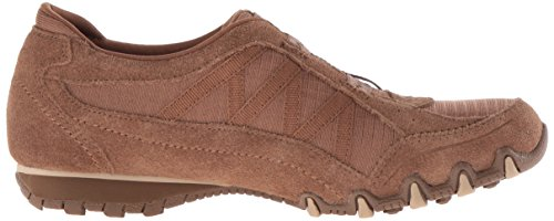 Skechers Women's Bikers-Crossroads Fashion Sneaker Désert