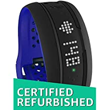 (CERTIFIED REFURBISHED) Mio Fuse Heart Rate Training with Activity Tracker, Regular (Cobalt Blue)
