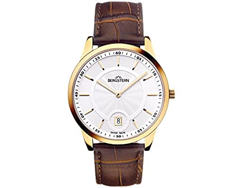 WRIST WATCH MEN'S COLLECTION HARMONY BERGSTERN B006G031 .made SWISS whatch HIGH QUALITY 'MADE IN SVIZZERA.Cinturino leather. TRIBUTE IN A GIFT
