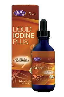 Life Flo Health, Liquid Iodine Plus, 2 oz (57 g) from Life-Flo