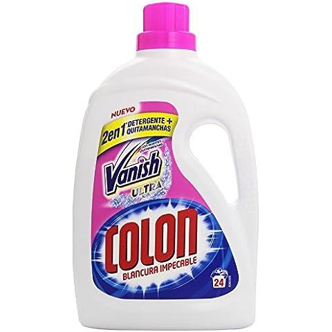 Colon Detergente liquido con Vanish, 24 lavados Vanish Detergente Liquido 24 lavados - 1635 ml