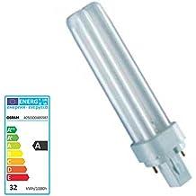 OSRAM - Bomiblla bajo consumo pines 26W/865 G24d-3 luz fría