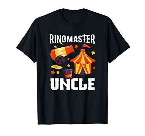 Ringmaster Onkel Zirkus Geburtstagsparty T-Shirt