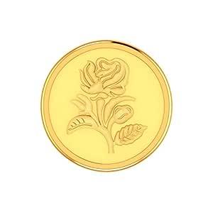 PC Jeweller 1 Gram 24K (995) Yellow Gold Precious Coin