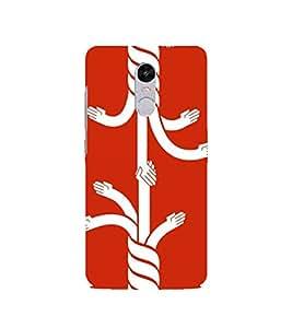 PrintVisa Designer Back Case Cover for Xiaomi Redmi Note 4 (Untiy is Strength)