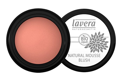 lavera Rouge Natural Mousse Blush ∙ Farbe Classic Nude ∙ cremig & seidig zart ∙ Natural & innovative Make up ✔ vegan ✔ Bio Pflanzenwirkstoffe ✔ Naturkosmetik ✔ Teint Kosmetik 3er Pack (3 x 4 g) -