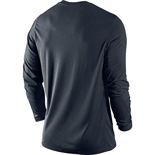 Nike–Pantaloncini Short Woven Short Grigio/blu (477 Dark Obsidian/Carbon Heather/Blue Graphite)
