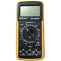 Multimetro Digital Profesional, Voltimetro, Amperimetro, Resistencia, Continuidad, Condensadores, Transistores