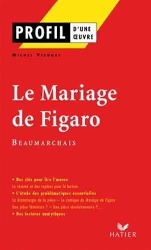 Profil d'une oeuvre : Le mariage de figaro par beaumarchais