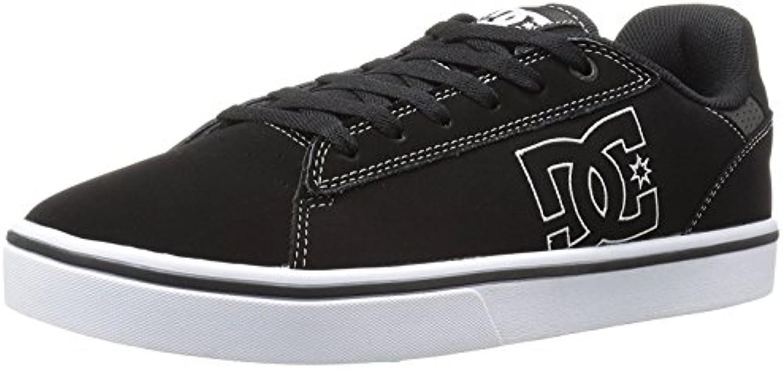 DC Men'S Notch Skate Shoe, Negro/Blanco, 39 D(M) EU/6 D(M) UK