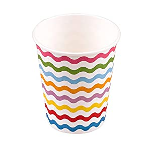 Neviti 677842ondas de carnaval taza, paquete de 8, multicolor
