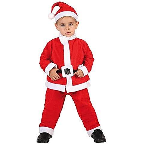 Atosa - Disfraz de Santa para niño, talla 4 - 6 años (8422259692119)