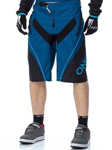 Pantaloni Corti Mtb Oneal 2017 Element Fr Blocker Blu (34 Vita = Eu 46 , Blu)
