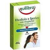 Equilibra Integratore Relax e Riposo, Rhodiola/Iperico con Magnesio - 40 Capsule