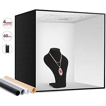 HAVOX - Fotostudio HPB-80XD - Maße 80x80x80cm: Amazon.de