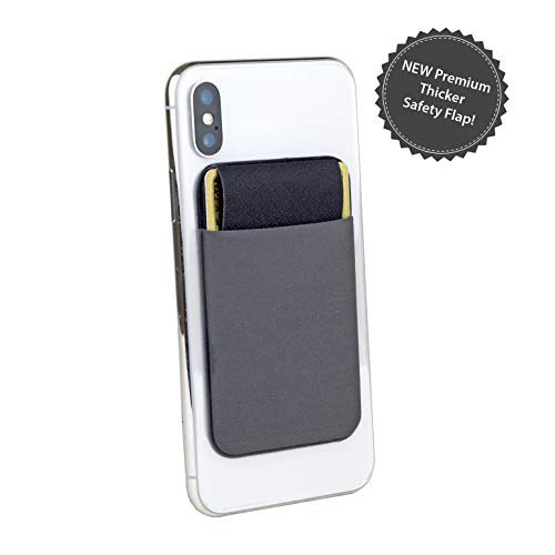 65f06f483b Premium Phone Wallet Stick On, Credit Card Holder Back of Phone, Stick-On