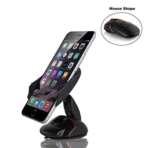 briteye Multifunktions-KFZ-Halterung Handy Halterung verstellbar 360Grad drehbar für Windschutzscheibe Armaturenbrett Passform für iPhone X/8/8PLUS/7/7plus/6S/6Plus/5S Galaxy S5/S6/S7/S8Google Nexus LG Huawei