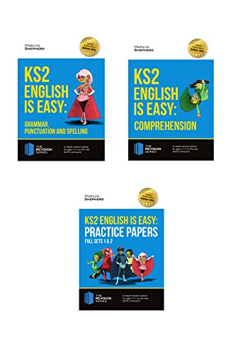 KS2 English is Easy 3 Book Revision Bundle: Complete Guidance for KS2 English - Achieve 100%