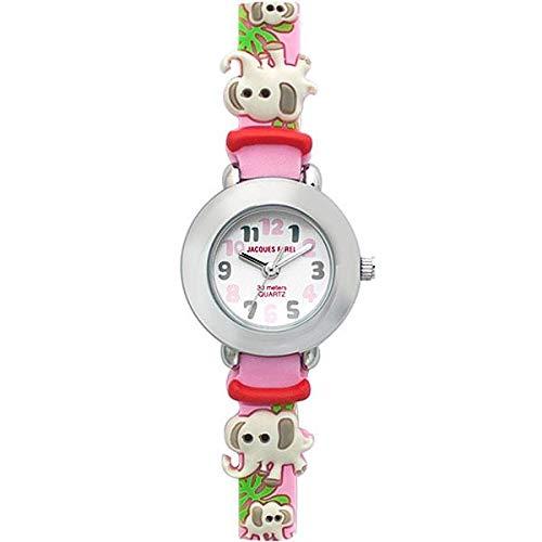 Jaques Farel kpc2222Elefantes Niños Reloj De Pulsera Reloj de Aprendizaje