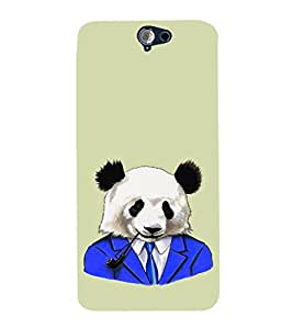 EPICCASE Panda in a suit Mobile Back Case Cover For HTC One A9 (Designer Case)